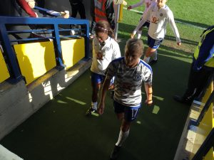 Eni Aluko and Katie Chapman