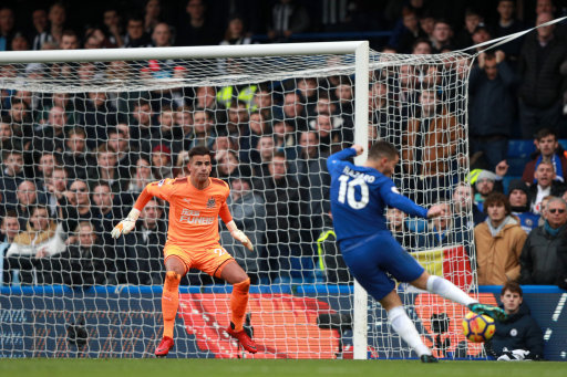 Newcastle keeper Darlow upset with Hazard over cheeky Chelsea penalty