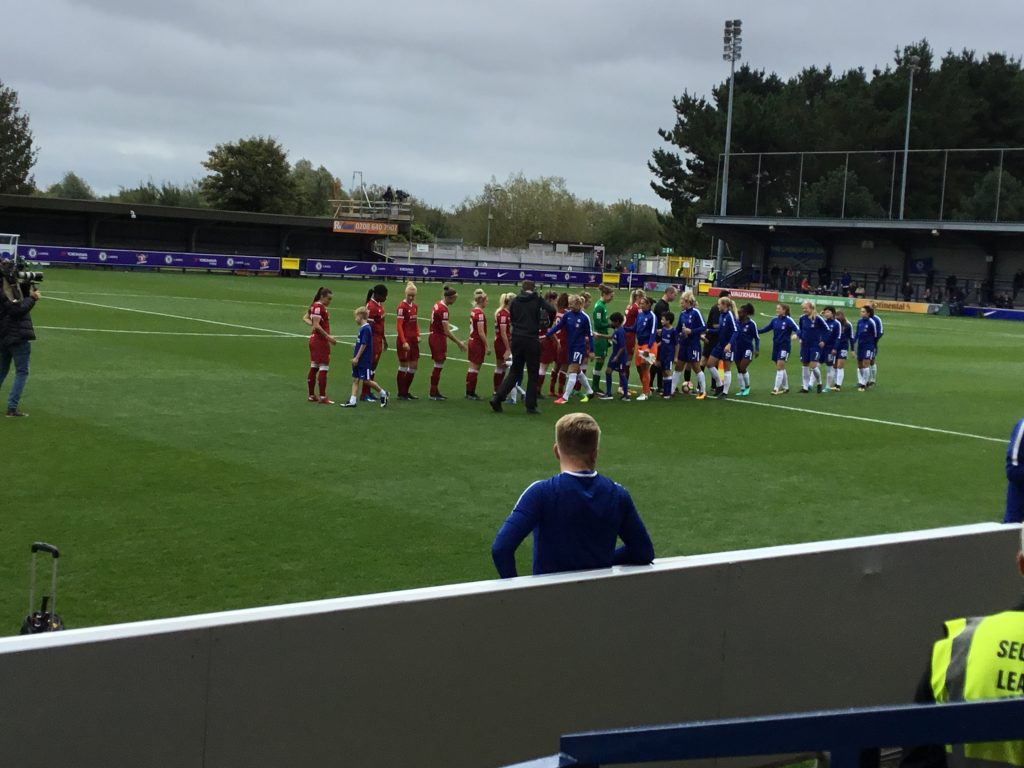 Chelsea Ladies beat Liverpool 1-0nearlier this season in the WSL1
