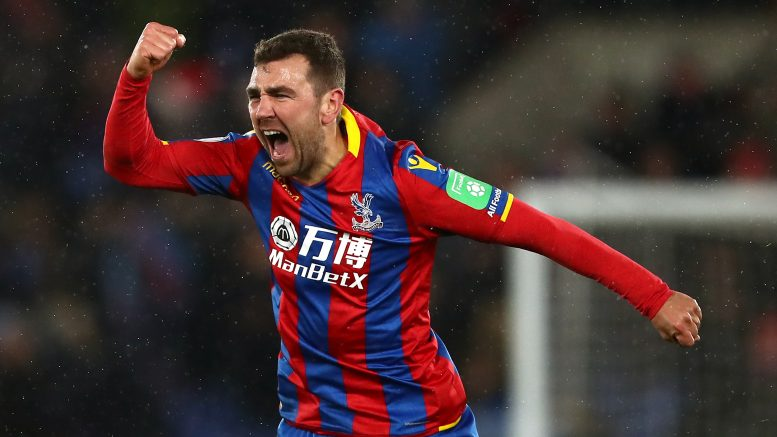 Crystal Palace's James Mc Arthur celebrates scoring his side's second goal of the game