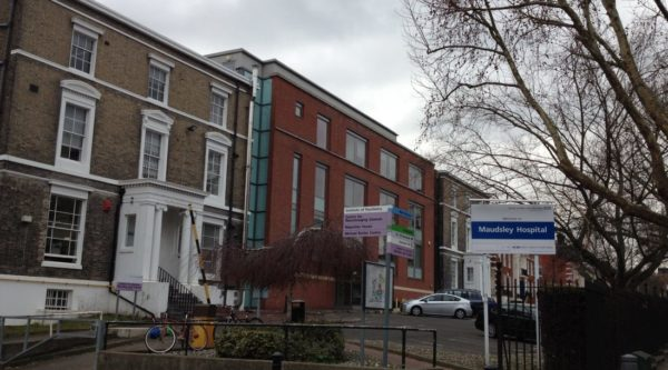 Plans for new psychiatric building at the Maudsley Hospital in Camberwell