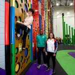Sporting stars help open 'magnificent' centre