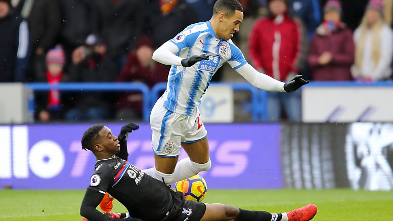 Palace out of EPL drop zone with 2-0 win at Huddersfield