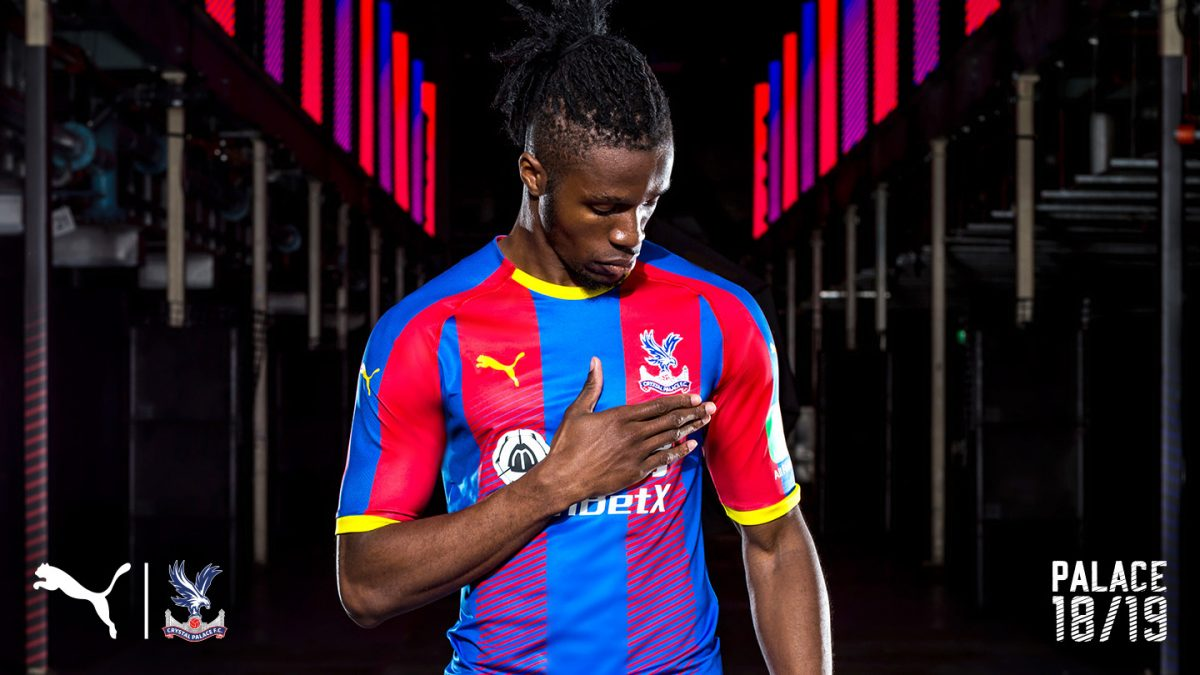 Crystal Palace unveil new kits for 2018-19 season – South London News 6ede6d5bf