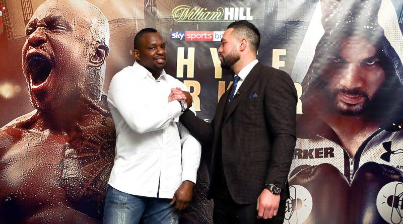 Dillian Whyte v Joseph Parker fight shifts 12,000 tickets