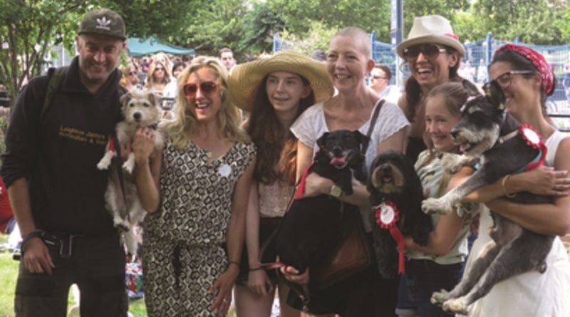 A village fete at the core of South London