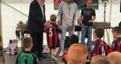 Rising star at Chelsea shows support for local club by handing out end-of-season awards