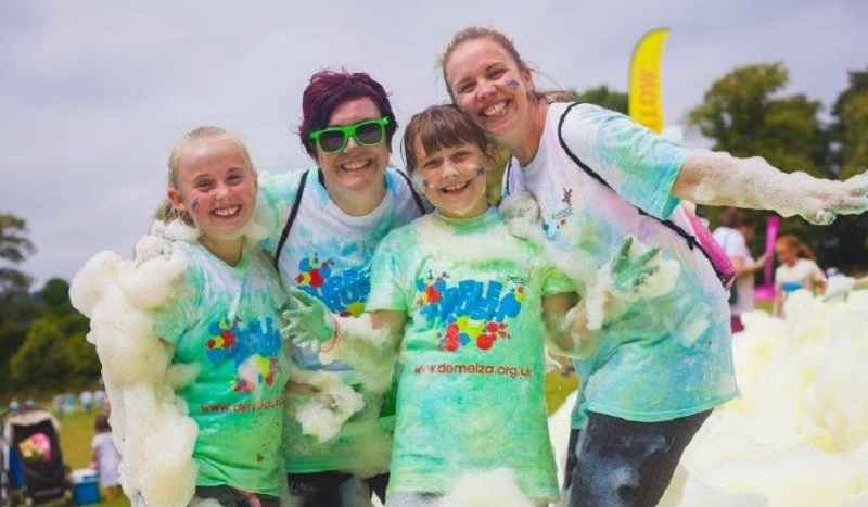 Join the bubble rush race avery hill park greenwich for the join the bubble rush race avery hill park greenwich for the demelza house care for children south london news thecheapjerseys Image collections
