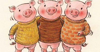 An imaginative retelling of the classic fairy tale: Three Little Pigs Go West