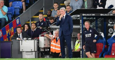 Crystal Palace manager fumes at Liverpool penalty award – and felt Eagles deprived of own spot-kick