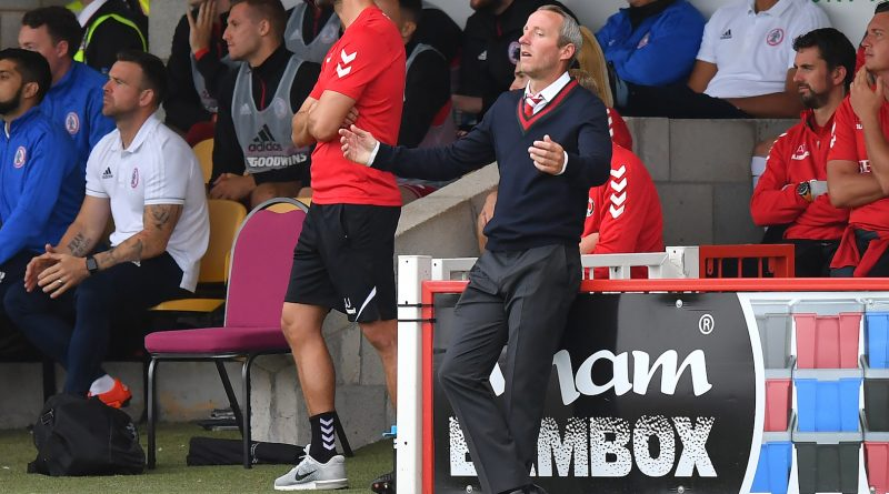 Lee Bowyer slams Charlton side after 'unacceptable' draw at Accrington Stanley