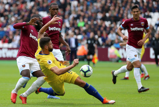 Blues lose perfect start as they draw 0-0 in dour encounter with West Ham at London Stadium