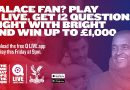 Crystal Palace fans go head to head on Q LIVE game show app