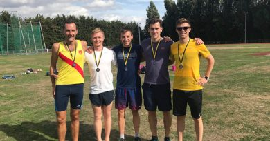 Hercules Wimbledon AC round-up: Silver medals for senior men in Surrey Road relay championship