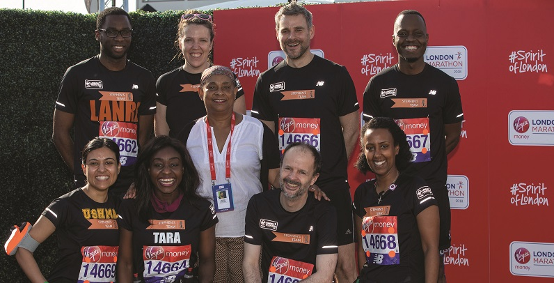 Stephen Lawrence Charitable Trust (SLCT) runs competition to design a mile marker for the London Marathon