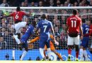 Blues nab an undeserved point  in 2-2 draw with Manchester United at Stamford Bridge as Jose loses his cool