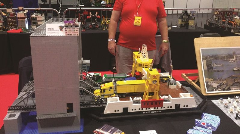 Lego enthusiast constructs model of ferry operated at Woolwich