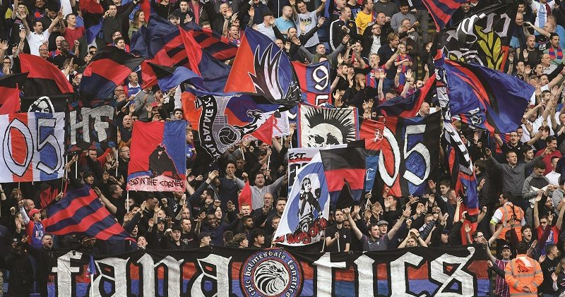 Crystal Palace fans' anger at ousting from their seats