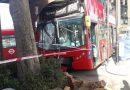 Bus driver arrested for drink driving after collision in Croydon that leaves girl, believed to be 15, in critical condition