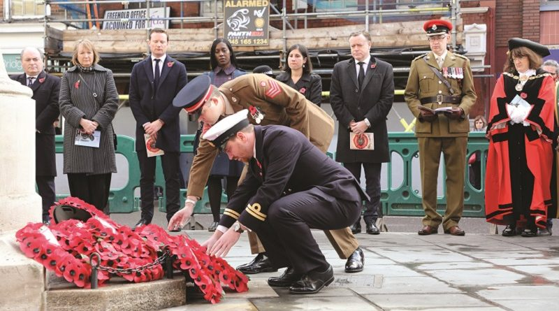 South London pays respects 100 years after the guns fall silent