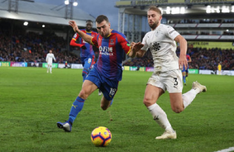 Crystal Palace end home wait in Premier League with a show of total dominance over Burnley