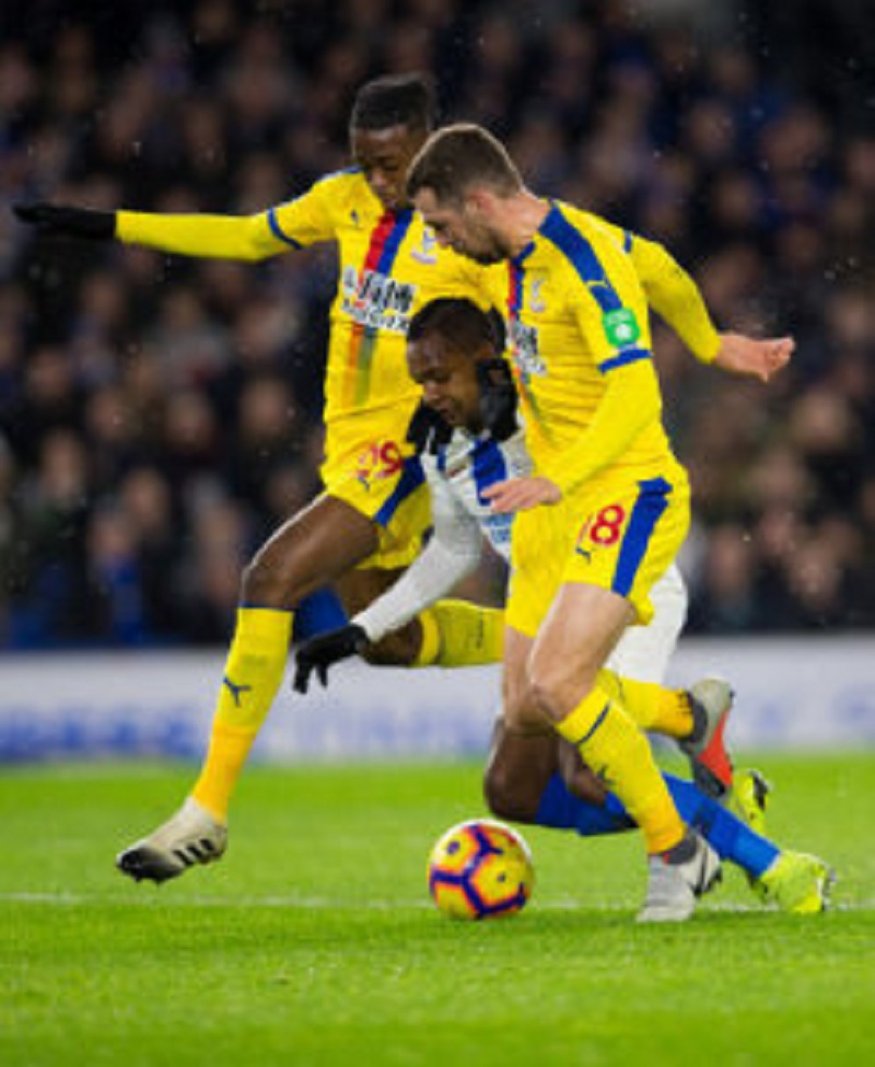 Palace midfielder McArthur: It was never a penalty but we weren't good enough against Brighton