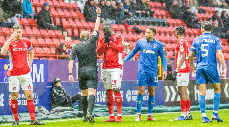 Charlton Athletic decide on whether to appeal Naby Sarr's red card