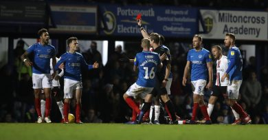 Portsmouth boss Jackett confirms appeal over Millwall midfielder's red card against Charlton Athletic