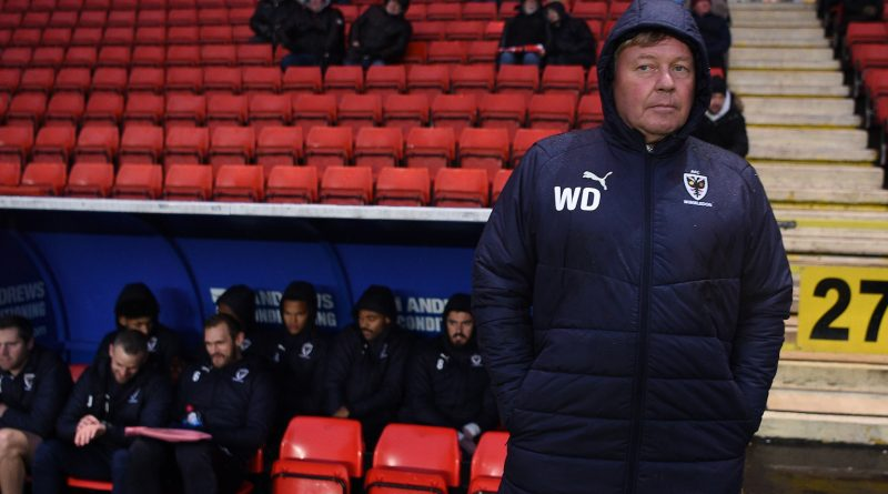 Wally Downes: No Christmas party for AFC Wimbledon players