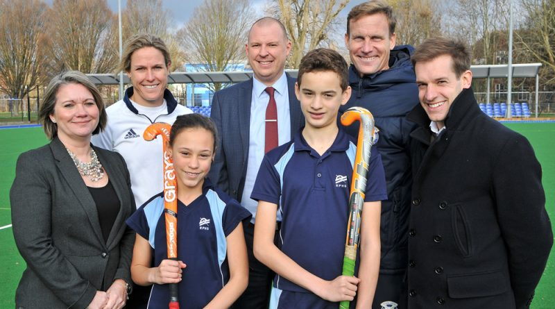 Raynes Park High School opens new £500,000 hockey pitch