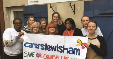 Funding appeal is launched to save counselling charity Carers Lewisham in Forest Hill