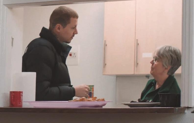 Food Bank Heartbreak For Professor Green On Volunteering