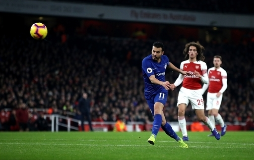 Blues shot down by the Gunners 2-0 as Champions League place is threatened