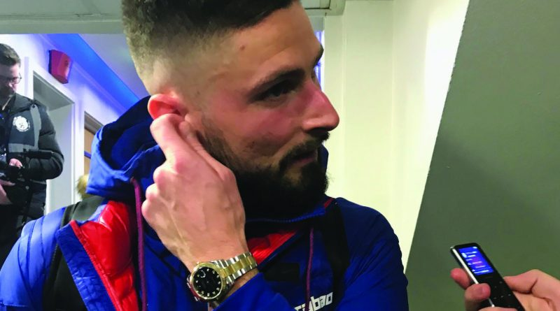 Giroud: I won't celebrate if  I score against Arsenal tomorrow