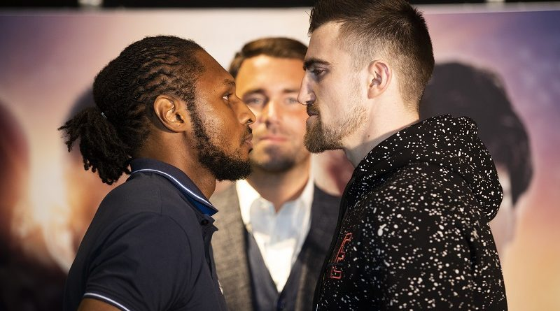 "Craig ""Spider"" Richards fires jibe at Jake Ball ahead of clash at Greenwich's 02 Arena"