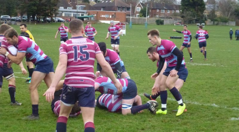 Wimbledon's forwards help leaders crush rock bottom Shelford