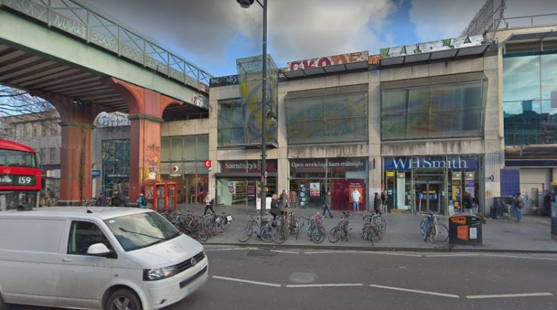 Axe-wielding man runs off after being confronted by passer-by in Brixton