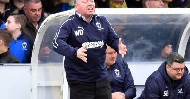 Wally Downes says AFC Wimbledon have clear run now at League One survival – and Alan Pardew reckons Dons are not doomed yet