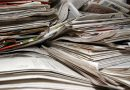 Pair stole free newspapers for recycling