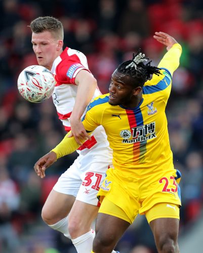 FA Cup quarter-final draw: Millwall at home to Brighton – Crystal Palace travel to Watford