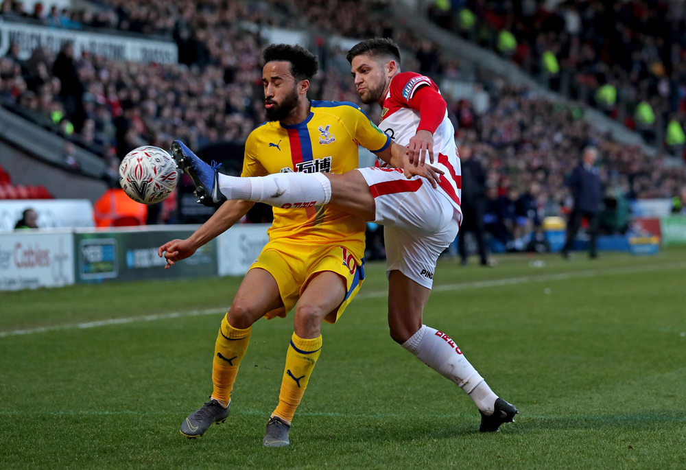 Crystal Palace show professionalism as they progress in FA Cup – but win at Doncaster lacks any real sparkle