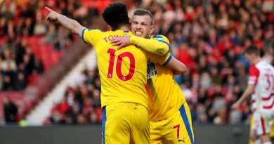 Doncaster Rovers 0 Crystal Palace 2 – Schlupp and Meyer on target as Eagles reach FA Cup quarter-finals