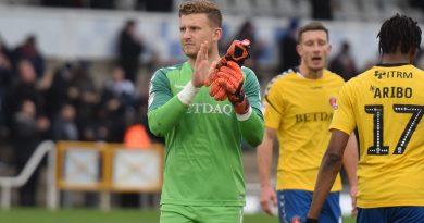 Charlton stopper Dillon Phillips: There's still eight games left to go, anything can happen