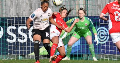 FA Women's Championship: First home league reverse for Charlton as Zelem inspires Manchester United