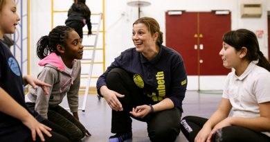 PE teacher from Lambeth at the forefront of the launch of Active School Hero helping to get kids moving