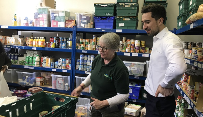 Mayor Of Lewisham Launches New Foodbank In Forest Hill