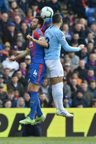 Crystal Palace 1 Manchester City 3 – Eagles unable to slow title assault of Pep Guardiola's side