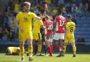 Oxford United 2-1 Charlton Athletic: Addicks top two hopes dealt major blow after defeat to former boss Karl Robinson