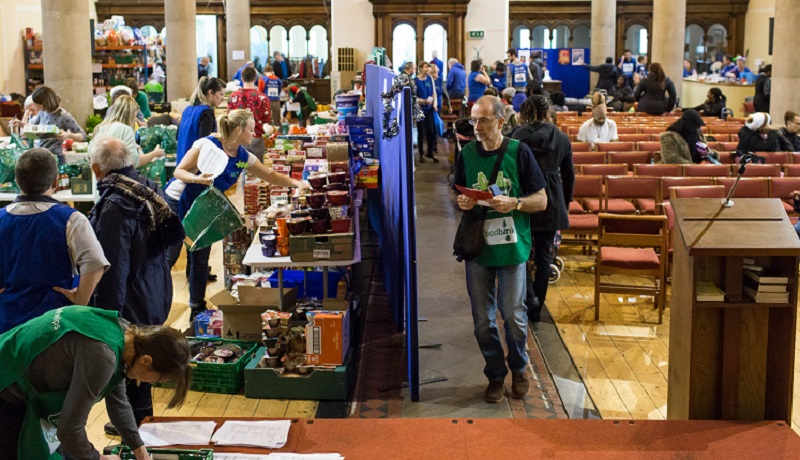 Food Banks Report Shows Client Figures Rose By Two Thirds
