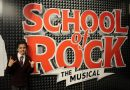 Jasper's second musical role The School of Rock- The Musical